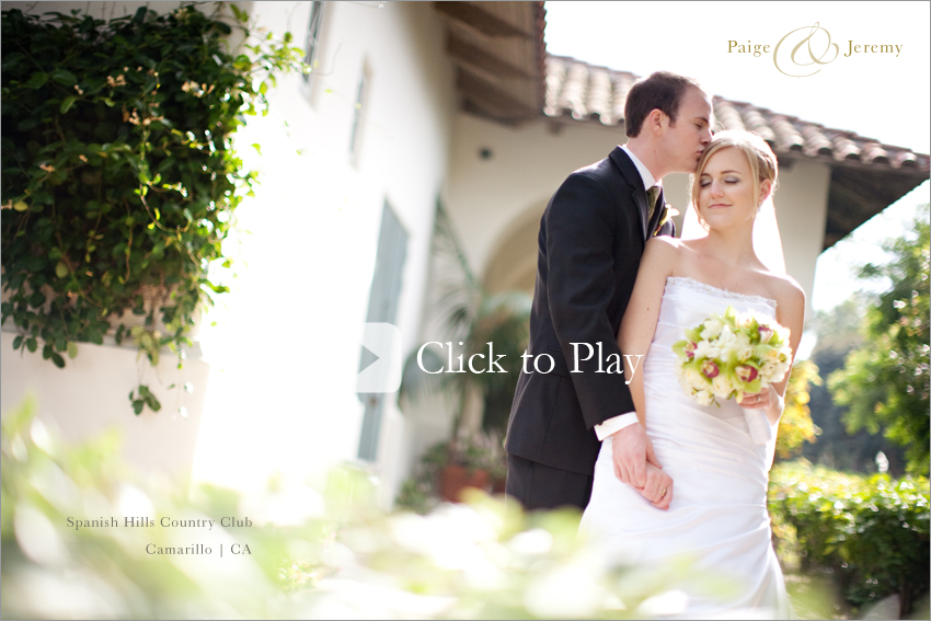 Spanish Hills Country Club Wedding Photography